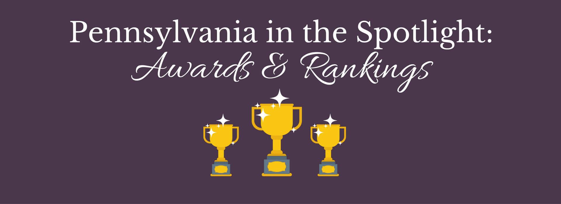 Pennsylvania Awards & Rankings (1)