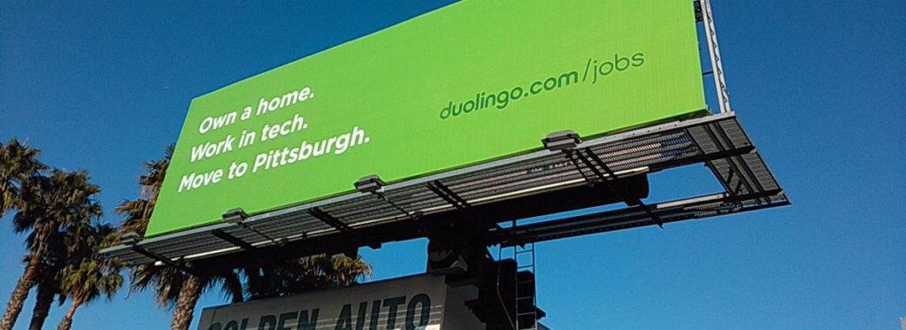 Duolingo Billboard