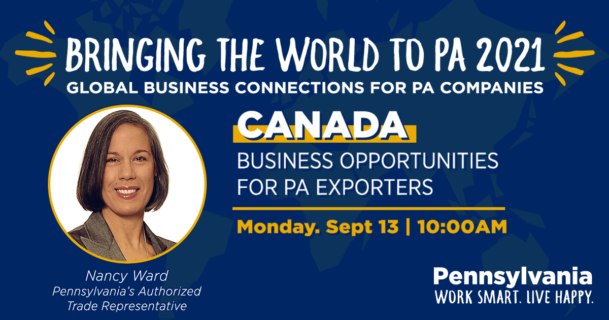 Canada: Business Opportunities for PA Exporters