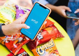 Gopuff App and Snacks