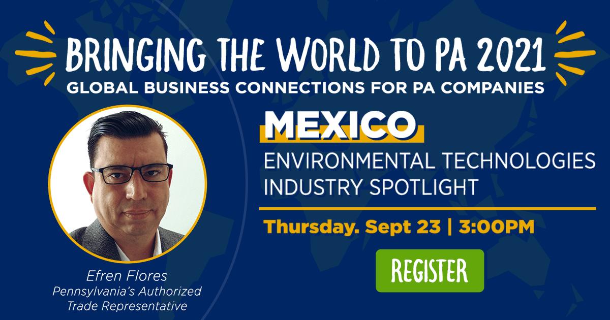 Mexico: Spotlight on the Environmental Technologies Industry